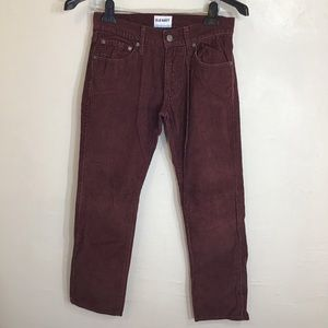 Old Navy Brown Corduroy Men 28x30 Pant